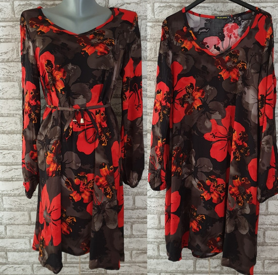 NOVA Cvetna tunika/haljina sa etiketom M/L