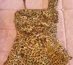 Limitirana Zuhair Murad Mangova leopard top majica