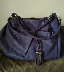 Ljubičasta velika torba
