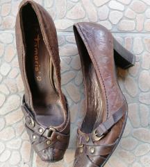 TAMARIS kozne braon cipele