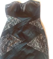 Miss Selfridge crna haljina br 10