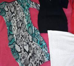 4 haljine tunike za 1000