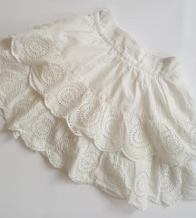 Bela suknjica M&S