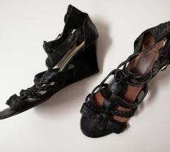Kozne Sandale Na Platformu