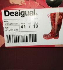 Desiqual gumene cizme br41