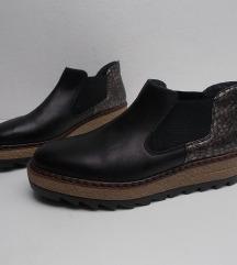 RIEKER kozne cipele,JEDNOM NOSENE