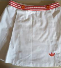 Adidas mini pamučna suknja, original