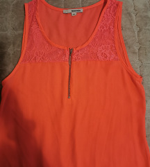 Neon narandzasto roze bluza SNIZENO