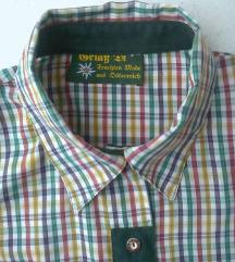 košulja karirana pamučna 42 i 44 BRIAB DI TRACHTEN
