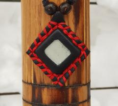Kožna ogrlica Chaga (Prirodna koža)