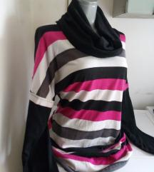 Bangjuji dzemper tunika sa pink L
