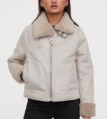 NOVA jakna sa krznom H&M