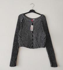 H&M crop džemperak NOVO