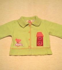 DPAM kivi zeleni duks-jaknica, 3-6 mes