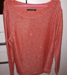 Šljokičasti džemper