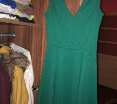 Zelena letnja haljina