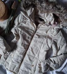 H&M krem jakna S  GRATIS POSTARINA