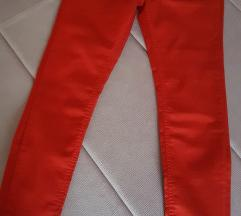 Bros Jeans crvene farmerice sa felerom