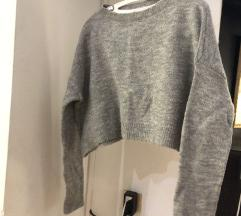 Zara knit crop top dzemper M