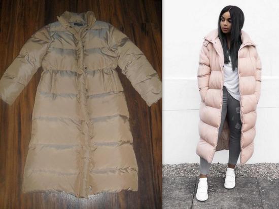 ZARA, izuzetna maxi jakna!! Perjana!!
