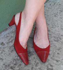 PALAZZO ITALY karmin crvene vrhunske sandale NOVO