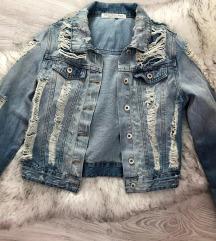 Moderna zenska teksas jaknica S/M
