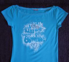 Tirkizno plava majica