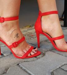 Crvene sandale NOVO