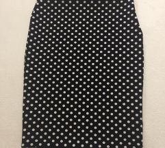 Uska crna suknja 40