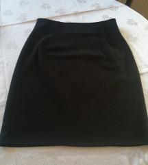 Crna suknja poslovna
