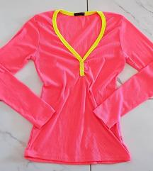 Bluza neon roza