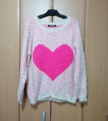💕May&Co💕 divan pufnasto džemper, kao nov