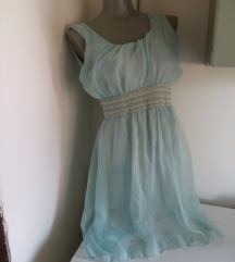 Nezno plava haljina S