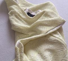 Žuta letnja haljina