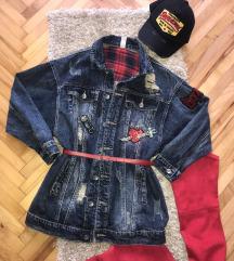 Teksas jakna-haljina