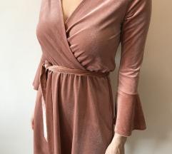 H&M plisana haljina