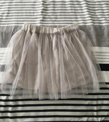 ❤️SNIŽENO❤️ Novo suknja saten
