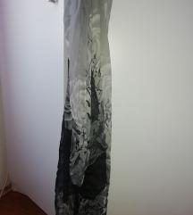 Marama sivo-crna