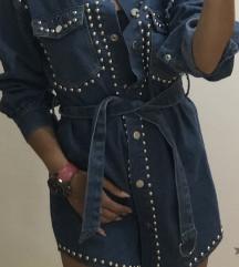 Teksas jakna -haljina