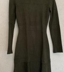 ZARA maslinasta haljina (XS-M)