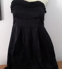 Crna, elegantna svecana mini haljina SADA 1200