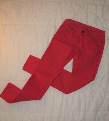 378. Crvene pamučne farmerke pantalone