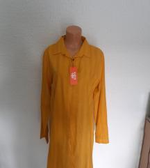 Kosulja haljina zuta M/L NOVO