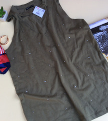 Military  boje majica sa nitnama Velicina