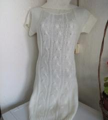 Calliope bela topla haljina M