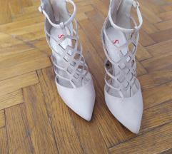 Prelepe krem sandale kao NOVE