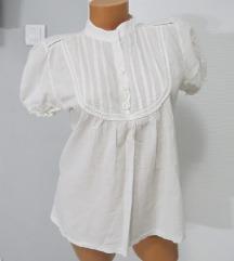 ITALY bela pamučna košulja vel. L