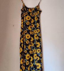 Suncokret haljina