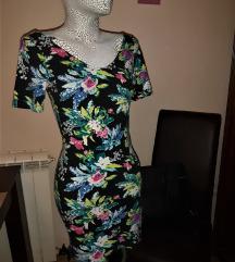 H&M Cvetna pamucna haljina