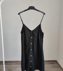 REZZ H&M crna haljinica sa dugmicima/NOVO